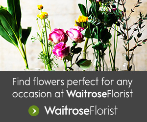 Florist by Waitrose & Partners. New: save £5 on all orders over £35 placed before 23rd December 2019 with code.